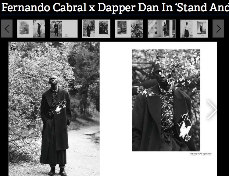 FERNANDO CABRAL X DAPPER DAN / STAND AND DELIVER